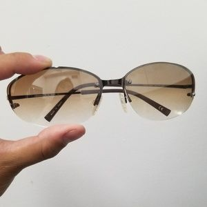 Brown tinted sama Luxury Sunglasses, free case